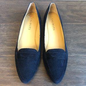 Talbots Navy Blue Loafers - 7AA - EUC